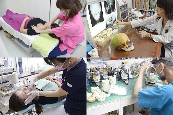 歯科医師・衛生士・技工士・整体師が様々な角度から患者さまの治療をサポート
